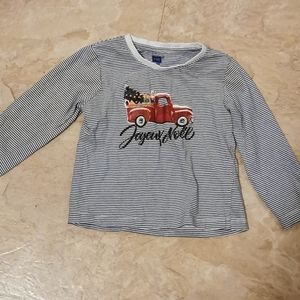 Toddler Christmas long sleeve tee size 3T
